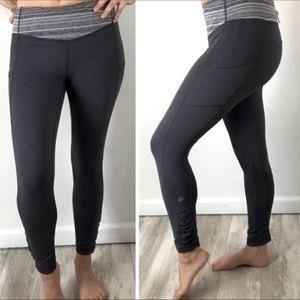 Lululemon dark grey Speed tight leggings
